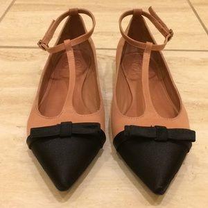 TORY BURCH Leoni T- strap ballet flats